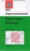 OEAV: 30/2 Ötztaler Alpen, Weißkugel - letní 1:25 000