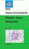 OEAV: 30/6 Ötztaler Alpen, Wildspitze - zimní 1:25 000