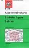 OEAV: 31/2 Stubaier Alpen, Sellrain - letní 1:25 000