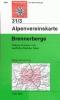 OEAV: 31/3 Brennerberge - letní 1:50 000