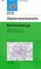 OEAV: 31/3 Brennerberge - zimní 1:50 000