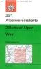 OEAV: 35/1 Zillertaler Alpen, West 1:25 000