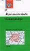 OEAV: 8 Kaisergebirge 1:25 000