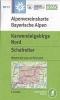 OEAV: BY12 Karwendelgebirge Nord - Schafreiter 1:25 000