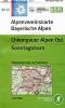 OEAV: BY19 Chiemgauer Alpen Ost, Sonntagshorn 1:25 000