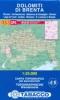 Tabacco: WK 53 Dolomiti di Brenta - con Pinzolo 1:25 000